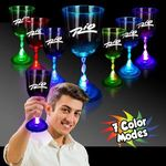 Buy Wine Glass Custom Imprinted Light Up LED 10 oz