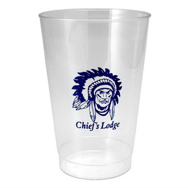Main Product Image for 12 oz. Clear Polystyrene Plastic Cup