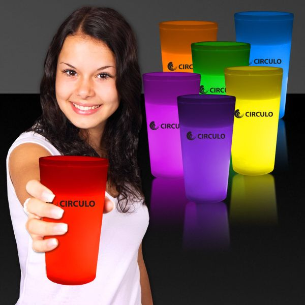 Main Product Image for Light Up Drinking Glass 12 oz