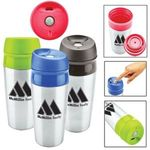 Buy Travel Mug Custom Imprinted Two Tone Tumbler w/ Lid 13 oz