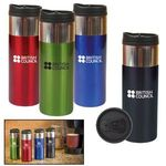 Buy Stainless Steel Tumbler with Chrome Band 14 oz