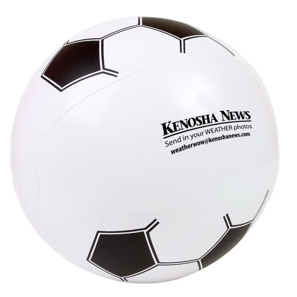 Main Product Image for Custom Imprinted Soccer Beach Ball 14in