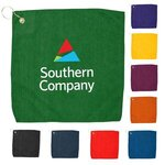 "Buy 15"" x 15"" Hemmed Color Towel - Free FedEx Ground Shipping"