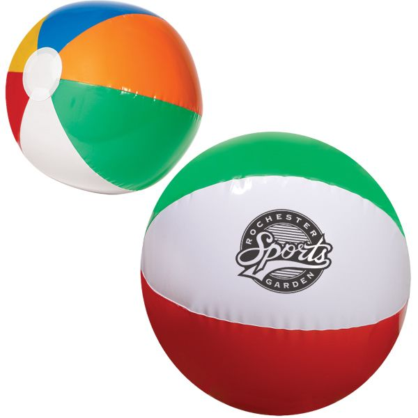 Main Product Image for Custom Imprinted Beach Ball Multi Colored 16in