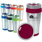Buy Stainless Steel Travel Tumbler Blue Monday 16 oz