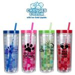 Buy Travel Cup Custom Imprinted Mood Cube Tumbler 16 oz.
