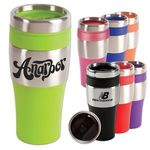Buy Stainless Steel Tumbler Silver Streak 16 oz.