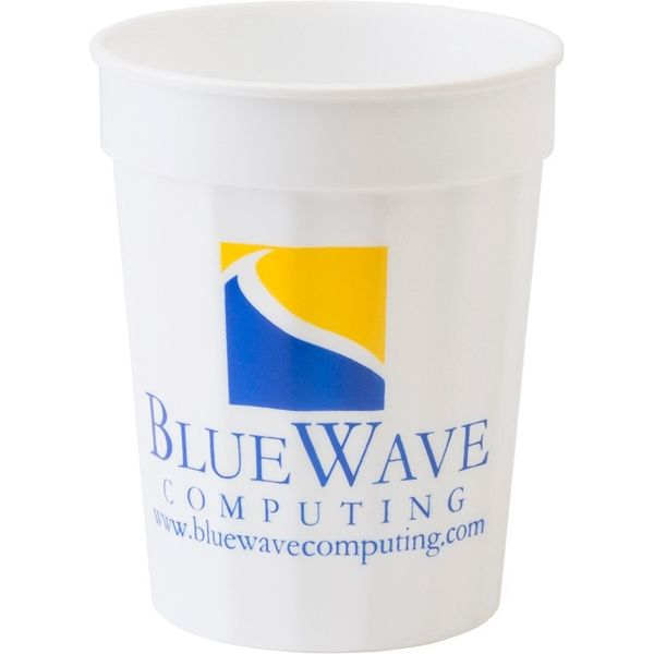 Main Product Image for 17 oz. Fluted Stadium Plastic Cup