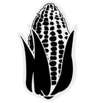 "18"" Corn Foam Cheering Mitt - Black"