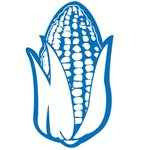 "18"" Corn Foam Cheering Mitt - Blue"