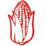 "18"" Corn Foam Cheering Mitt - Red"