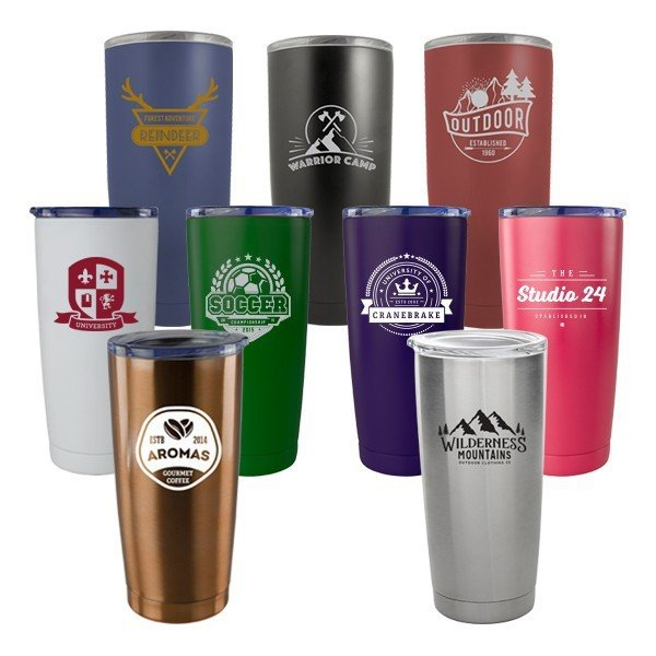 Main Product Image for Stainless Steel Viking Tumbler 20 oz