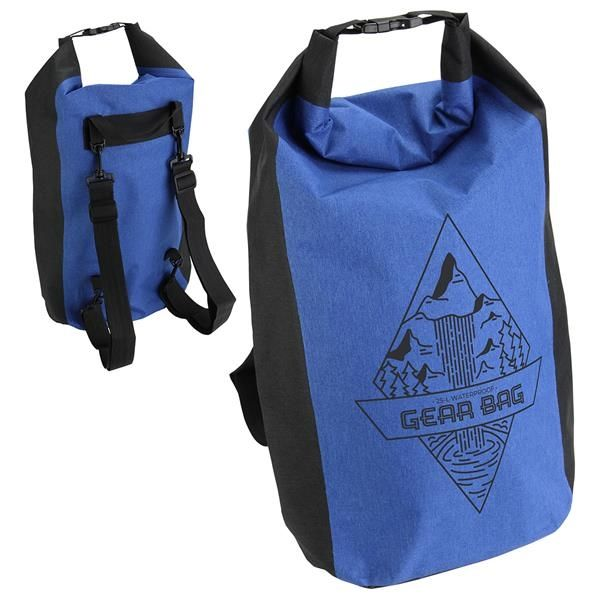 Main Product Image for 25-Liter Polyester Waterproof Backpack