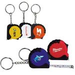 3 1/4 Ft. Mini Tape Measure / Keychain -