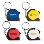 Buy Custom Imprinted Key Chain with Mini Tape Measure 3 ft
