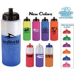 Buy Sports Bottle Color Changing with Push n Pull Cap 32 oz