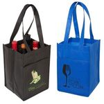 Buy 4 Bottle Wine Tote (Non-Woven)