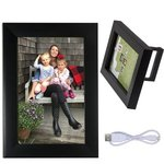 "4"" x 6"" Wireless Speaker and Frame - Black"