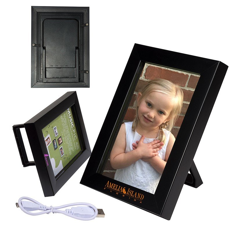 "Main Product Image for 4"" x 6 Picture Frame with Wireless Speaker"
