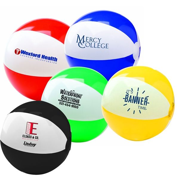 "Main Product Image for 6"" Two-Tone Beach Ball"