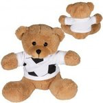 "7"" GameTime (R) Plush Bear - Brown-black"