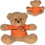 "7"" GameTime (R) Plush Bear - Brown-orange"