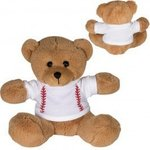"7"" GameTime (R) Plush Bear - Brown-white"