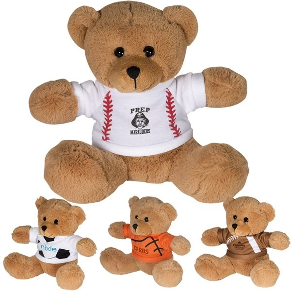 "Main Product Image for 7"" GameTime (R) Plush Bear"