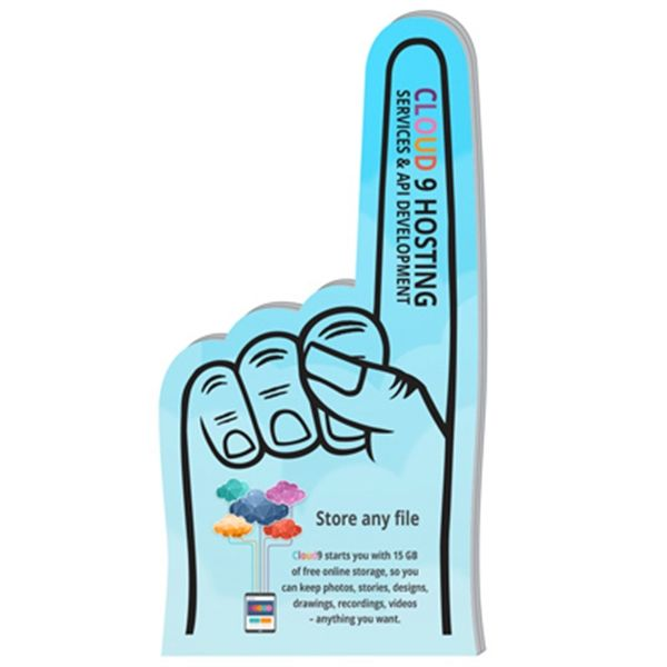 "Main Product Image for 7.5"" EVA Foam Hand Full Color"