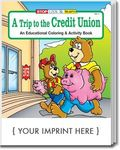 Buy A Trip To The Credit Union Coloring and Activity Book