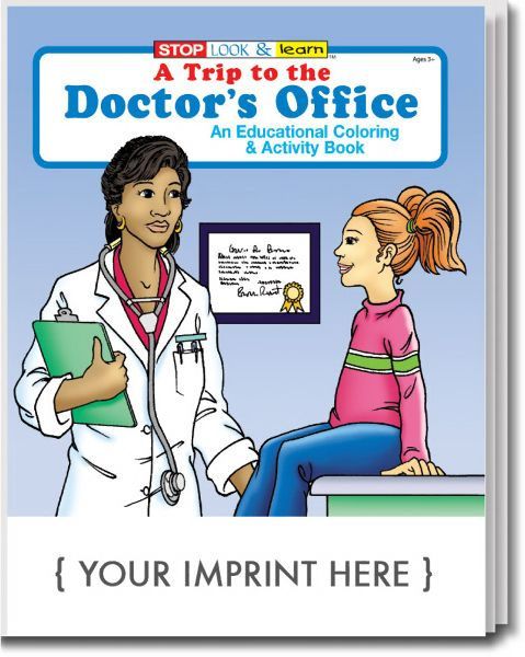 Main Product Image for A Trip to the Doctor's Office Coloring and Activity Book