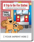 Buy Fire Station Coloring and Activity Book