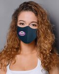 Adult Anti-Bacterial Woven Fabric Face Mask - STAFF PICK -