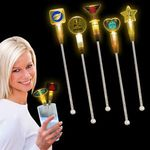 Buy Cocktail Stirrer Amber Light Up 9in