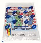 Buy American Heroes Coloring and Activity Book Fun Pack