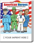 Buy American Heroes Coloring and Activity Book