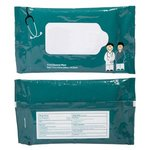 Antibacterial Pouch Wipes - Doctor and Nurse - Teal