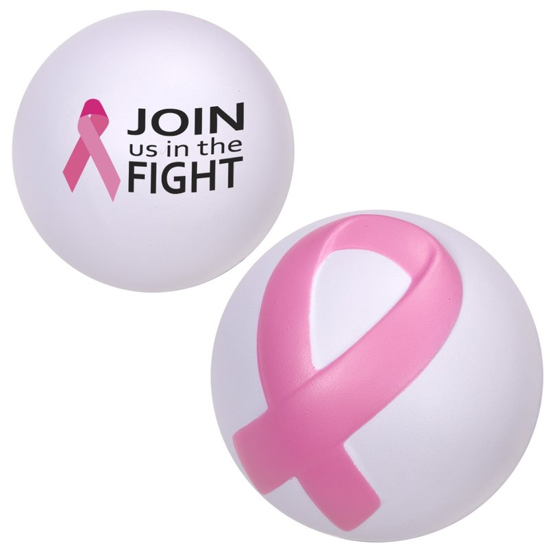 Main Product Image for Stress Reliever Breast Cancer Awareness Ribbon