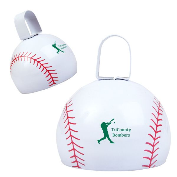 Main Product Image for Baseball Cow Bell