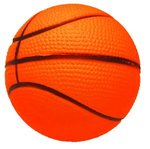 Basketball Super Squish Stress Reliever -