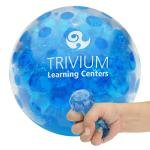 Buy Custom Imprinted Stress Reliever Bead Squeeze Gel Ball - Blue