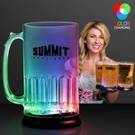 Buy Light Up Beer Mug with Flashing LED lights 24 oz