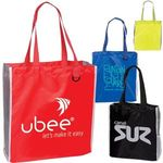 Buy Custom Imprinted Tote Bag with Side Mesh Pocket