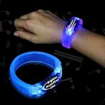 Buy Blue Soundsation Light Up Glow LED Bangle Bracelet