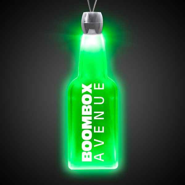 Main Product Image for Bottle Light-Up Acrylic Pendant Necklace