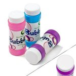 Bubbles with Cap Imprint 2 oz. - Assorted Colors