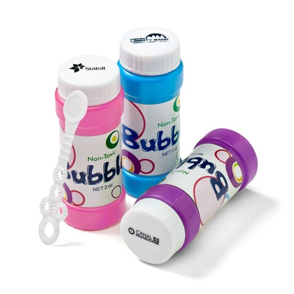 Main Product Image for Bubbles with Cap Imprint 2 oz.