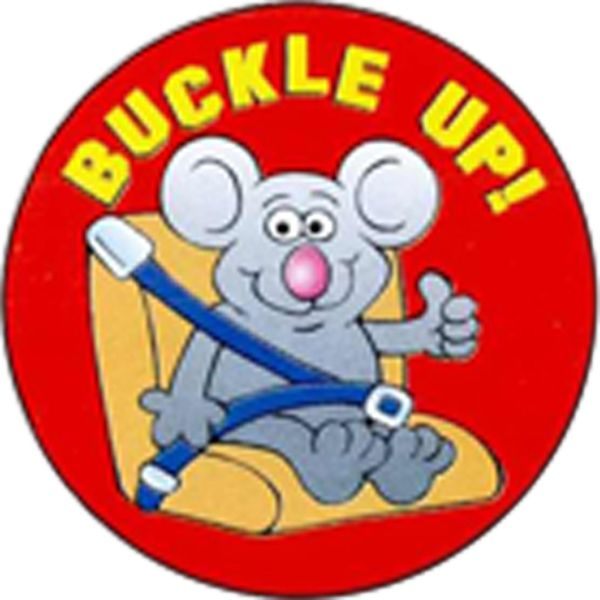 Main Product Image for Buckle Up Sticker Rolls
