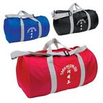 Buy Custom Imprinted Duffel Bag Budget Barrel Duffel