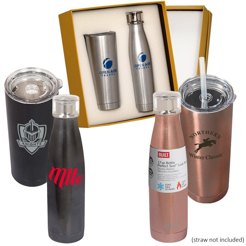 Main Product Image for BUILT (TM) Duo Vacuum Bottle Gift Set